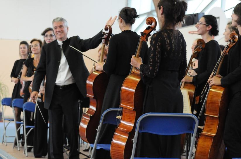 Concert inaugural de la Philharmonie des Deux mondes au Croisic le 15 septembre 2013 sous l'égide de Mme Le Maire du Croisic