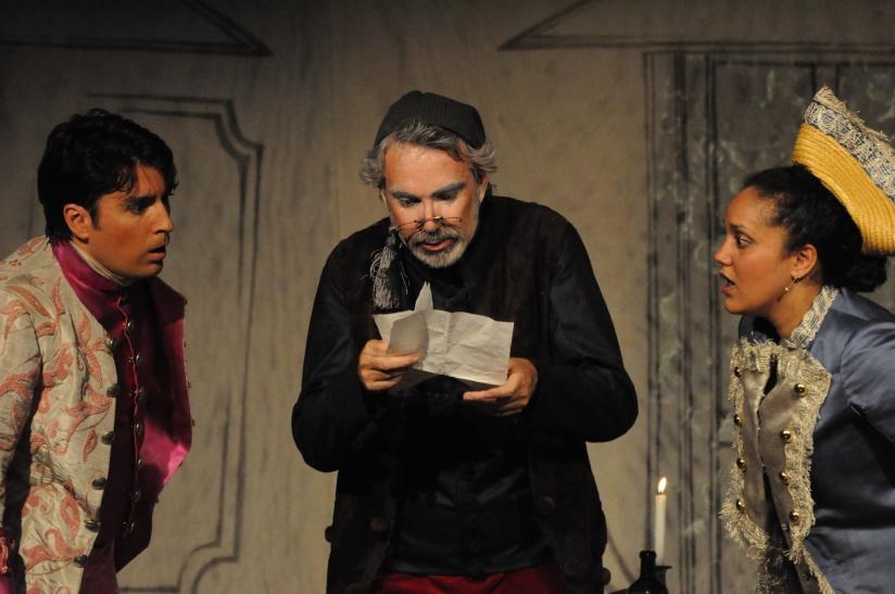 Fleurette avec Marc Larcher, Franck Léguérinel et Laeticia Volcey
