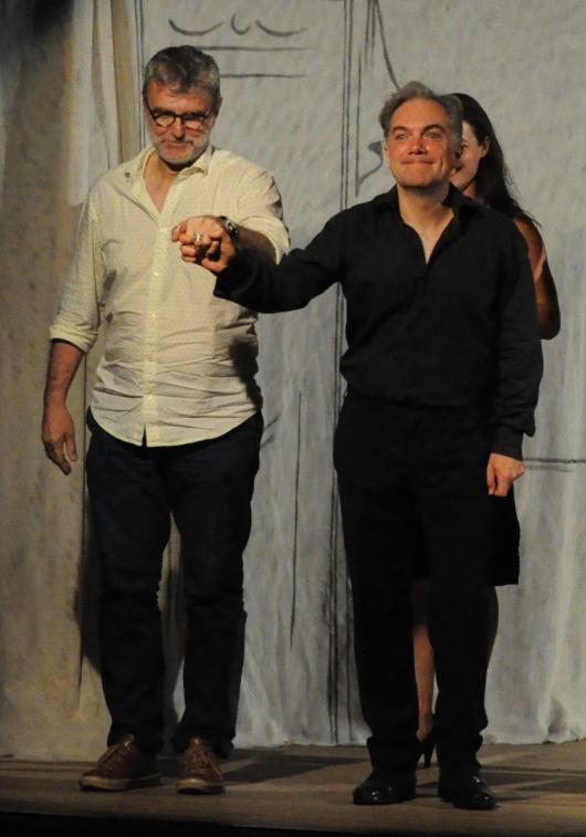 Michel Ronvaux et Yves Coudray (saluts)