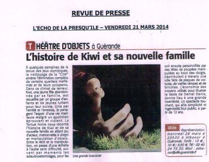 Kiwi à Guérande (44)