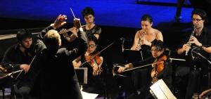 Philippe Hui dirige l'Orchestre du CRD de Pantin