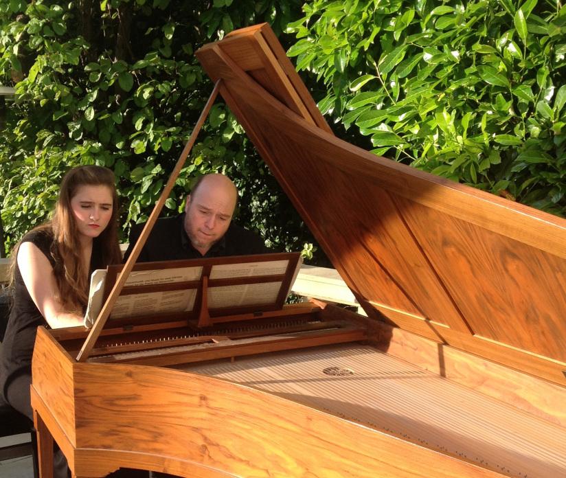 Ensemble Pégase: Morgane Le Corre et Knut Jacques