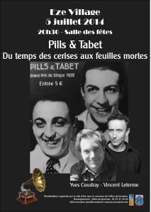 affiche pills et tabet eze