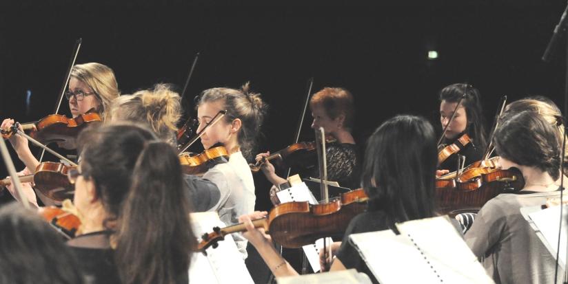 Les musiciens de la Philharmonie des Deux Mondes