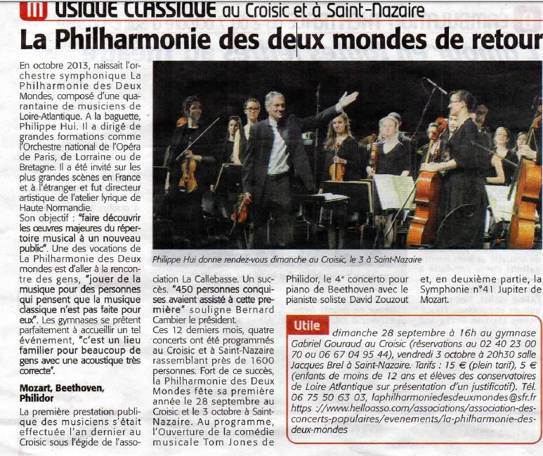 Echo Presqu'Ile Croisic 25 09 2014