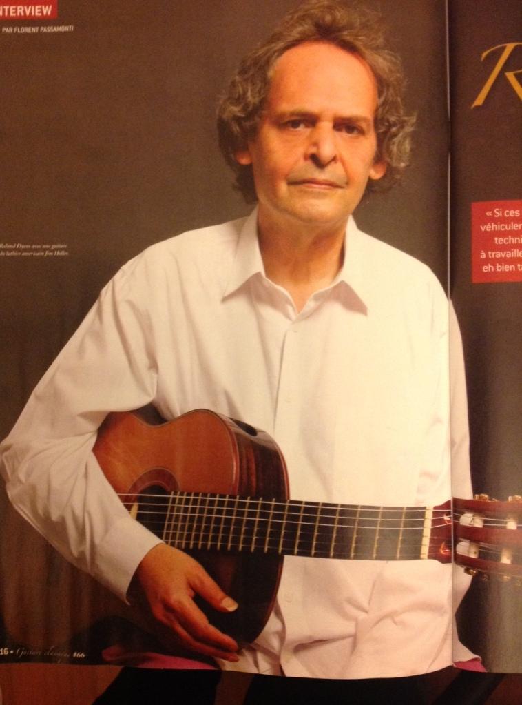 Roland Dyens été 2014
