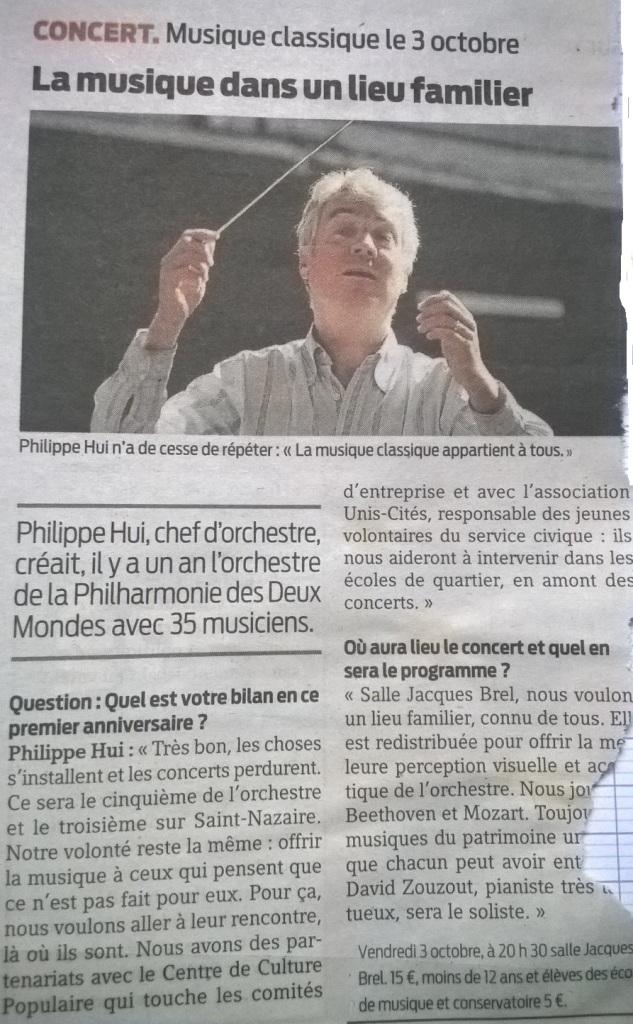 Presse Océan 23 09 2014