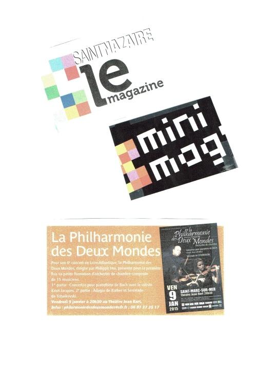 Le Mini-mag de St-Nazaire - Janvier 2015