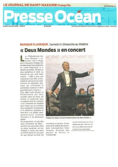 Presse Océan - 08/01/2015