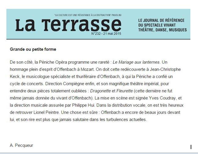 Article La Terrasse mai 2015