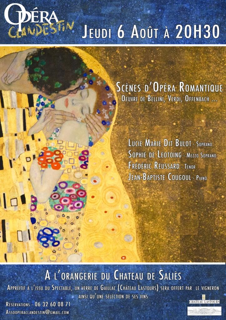Affiche Opera 6 aout2015