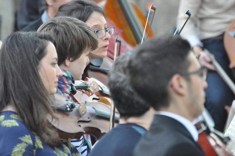 Hélène Checco, violoniste