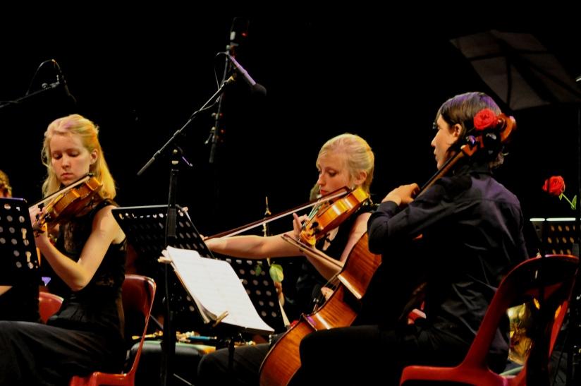 Les musiciens de l'Ensemble Instrumental de la Philharmonie des Deux Mondes