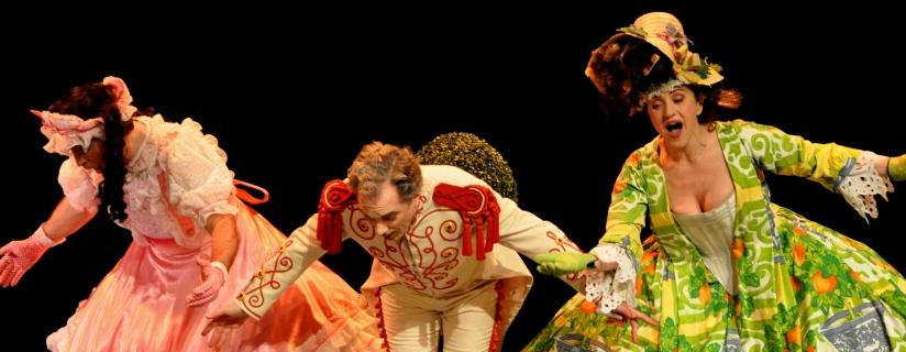 L'ILE DE TULIPATAN de J. Offenbach par la Cie Yves Coudray ©Laura Dyens