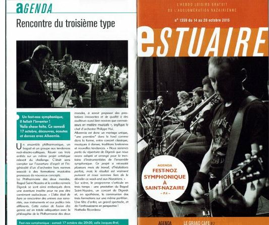 article Estuaire Fest Noz oct 2015