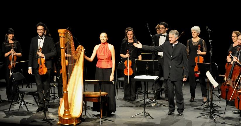Philippe Hui, Delphine Benhamou et l'Orchestre de chambre de la Philharmonie des Deux Mondes