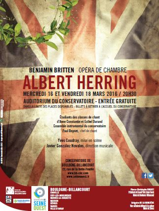Affiche Albert Herring