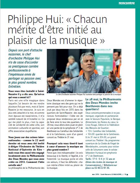 Article Mag St Nazaire mai2016