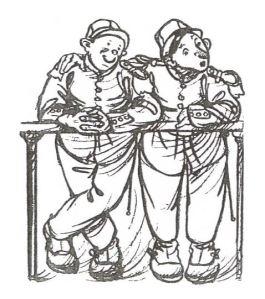 dessin deux sodats
