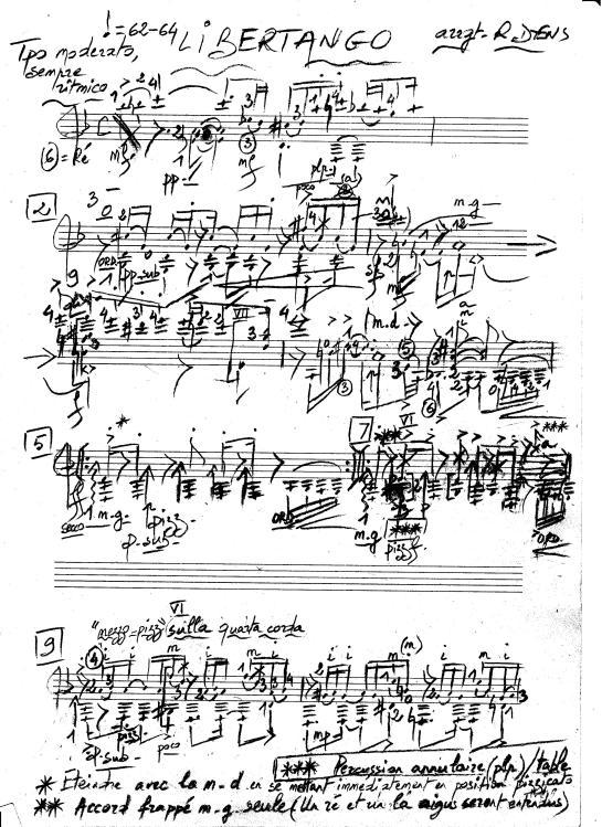 Roland Piazzola Libertango P1