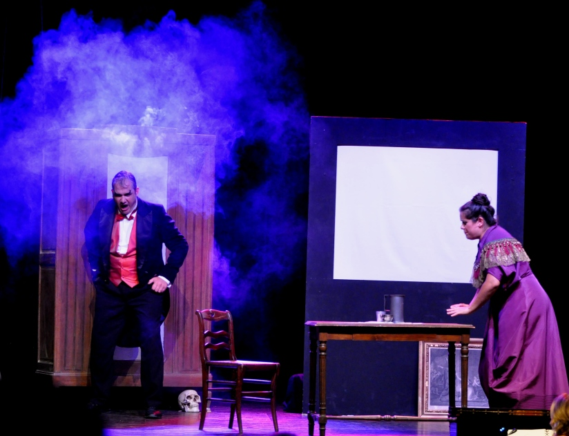 Gaspart fumée et Jeanne