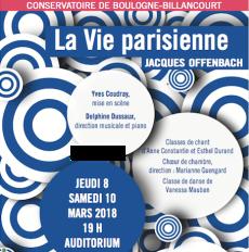 Affiche Vie Parisienne